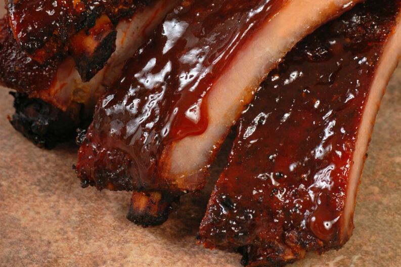 Costillas de cerdo en salsa de cola 2