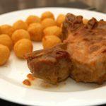 Costillas de cerdo en Salsa de Vino Blanco