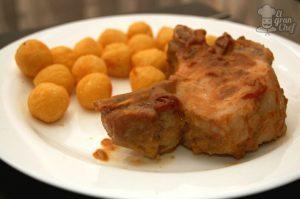 Chuletas de Cerdo con Mostaza y…