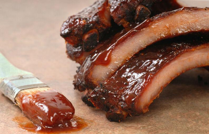 Costillas de cerdo en salsa de cola 1