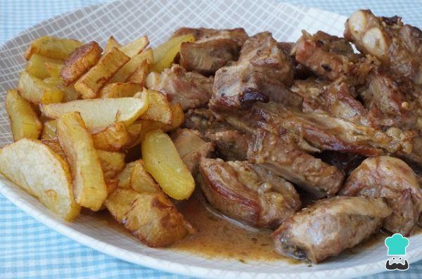 Receta de Costillas de cerdo en salsa de vino blanco - Paso 8