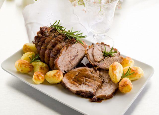 Solomillo de Cerdo al Horno con Patatas