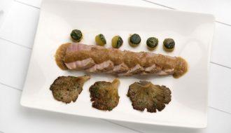 solomillo de cerdo en salsa karlos arguiñano